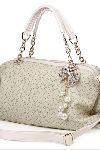 Handbag Sequined Bow