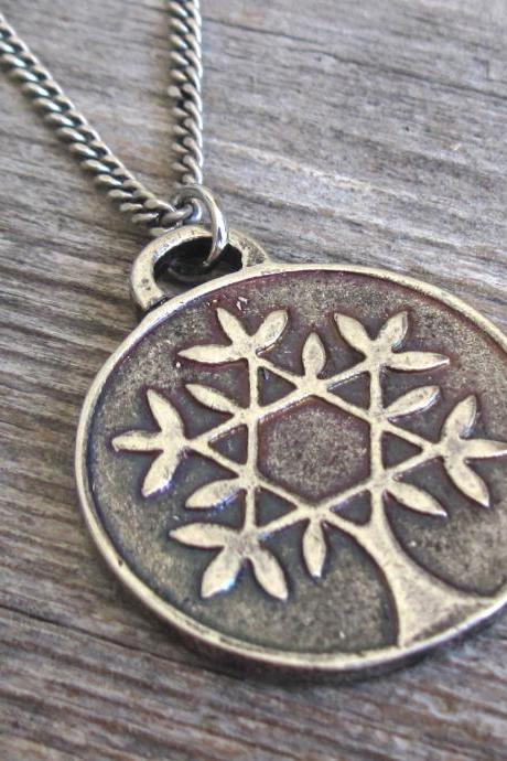 Men's Necklace - Men's Tree Of Life Necklace - Men's Silver Necklace - Mens Jewelry - Necklaces For Men - Jewelry For Men - Gift for Him