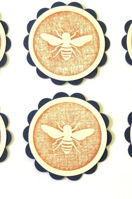 Queen Bee Embellishments/Favors/Tags - Set of 6