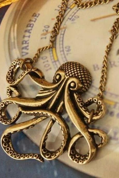 octopus necklace, Pirates of the Caribbean