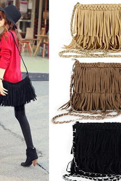 Fashion Tassel Handbag