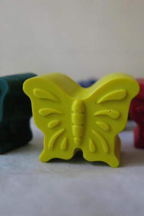 Butterfly Crayon set of 6