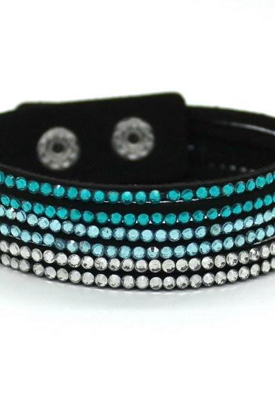 *Free Shipping* New Fashion 6 Layer Leather Bracelet! Factory Discount Prices, Charm Bracelet! 13 Color Choices