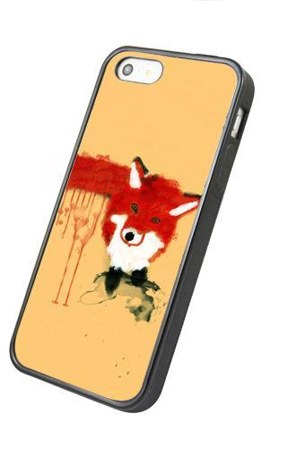 Lovely fox - iphone 4 4s case iphone 5 5s 5c case iphone 6 6 plus case ipod touch 4 ipod touch 5 case