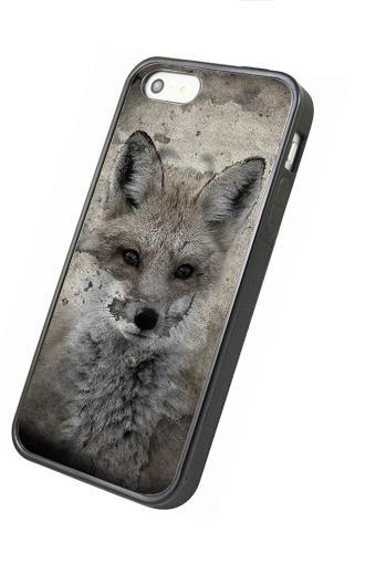 Vintage fox - iphone 4 4s case iphone 5 5s 5c case iphone 6 6 plus case ipod touch 4 ipod touch 5 case