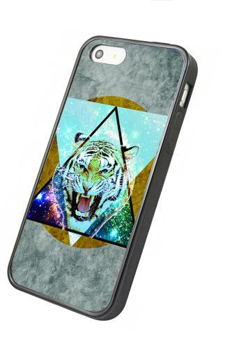 Art Tiger - iphone 4 4s case iphone 5 5s 5c case iphone 6 6 plus case ipod touch 4 ipod touch 5 case