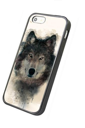 Cool Wolf - iphone 4 4s case iphone 5 5s 5c case iphone 6 6 plus case ipod touch 4 ipod touch 5 case