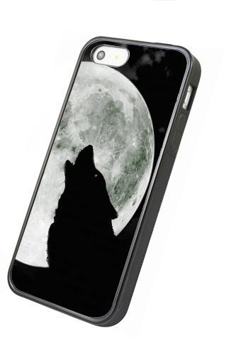 Wolf under the moon - iphone 4 4s case iphone 5 5s 5c case iphone 6 6 plus case ipod touch 4 ipod touch 5 case
