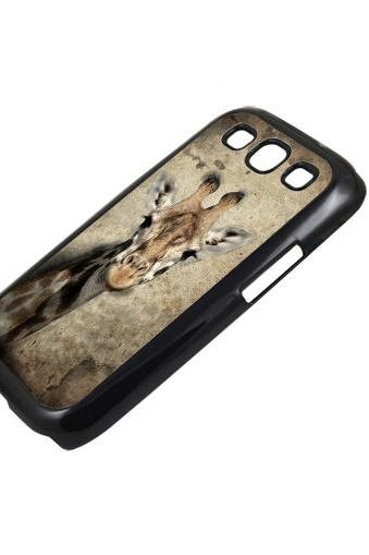 Vintage giraffe - Sumsung Galaxy S2 i9100 case S3 i9300 S4 mini S5 Note 1 2 3 case