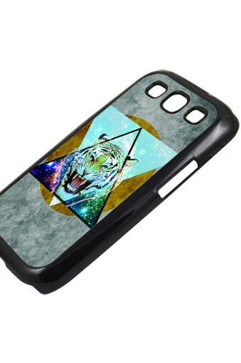 Tiger - Sumsung Galaxy S2 i9100 case S3 i9300 S4 mini S5 Note 1 2 3 case