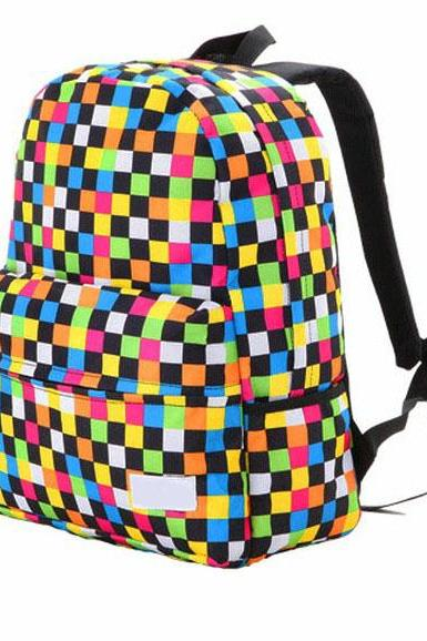 Cool Colorful Raibow Backpack Bag
