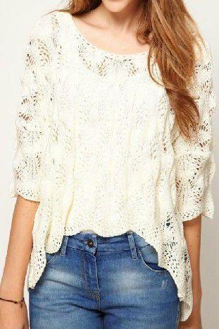 Hollow Loose Sweater
