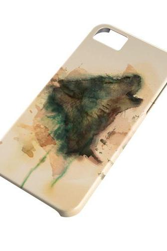 Art wolf - full wrap iphone 4 4s case iphone 5 5s case iphone 5c case Galaxy S3 i9300 case