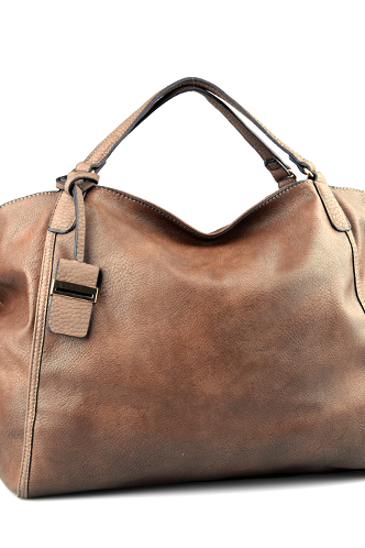 Large (56cm X 34cm) Brown Leather Tote Hobo Handbag Shopper Tote Brown Leather Handbag Brown Purse Leather Purse