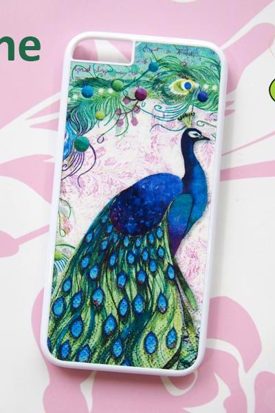 Peacock, iPhone 6+ plus Case, iPhone 6s+ plus Case, iPhone 6 Case, iPhone 6s Case, iPhone 5 Case, iPhone 5s Case, iPhone 4, iPhone 4s Case, iPhone 5C, Galaxy S6, Galaxy S6 Edge, Note 3, Note 4, Note 5, Phone Cases