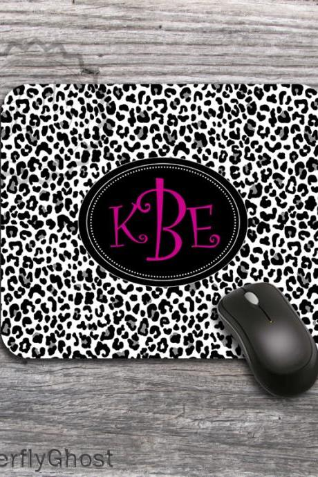 Cheetah Inspired design Mousepad, computer accessory, office desk gift