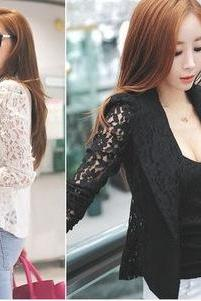 Lace Dress Suit Jacket