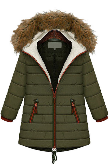2015 new European winter down women's cotton padded jacket