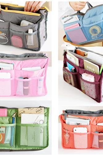 Women Insert Handbag Organizer bag