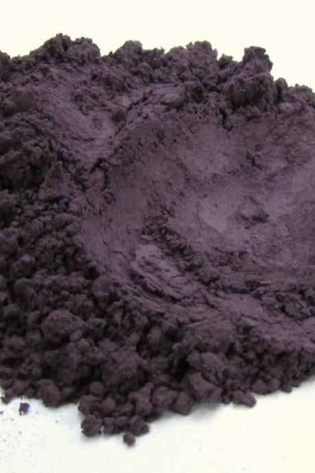 Mineral Eyeshadow Vegan Matte Eyeshadow Cruelty Free Vegan Mineral Makeup -Blackberry Jam