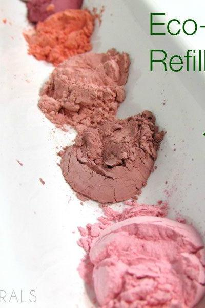 Mineral Blush Mineral Makeup REFILL Bag