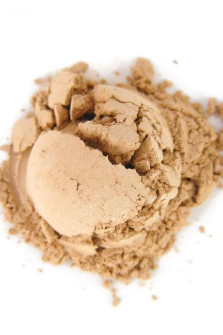 Mineral Foundation, Natural Makeup, Vegan Matte Foundation - Warm Sand - Medium