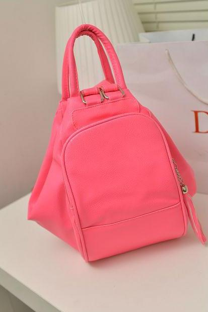 Sweet Vivi Candy Color Pure Multi-Function Backpack