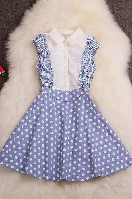Fashion Polka Dot Dress ED62610