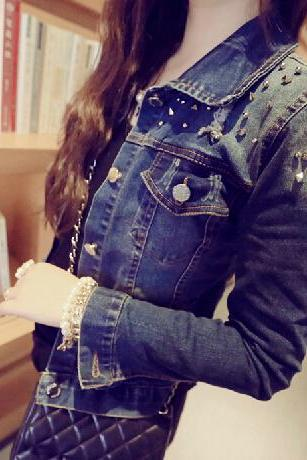 Slim Denim Jacket SF100812HK