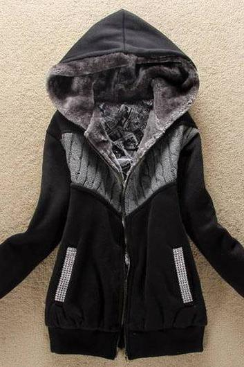 Warm Hooded Winter Coat In 6 Colors