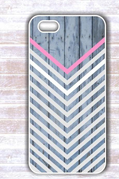 Wood Chevron Iphone 5 Case - Iphone 4S case- Samsung Galaxy S3/S4 case