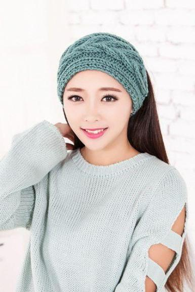 Headwraps Knitted Ear Warmers for Winter,Spring,Autumn