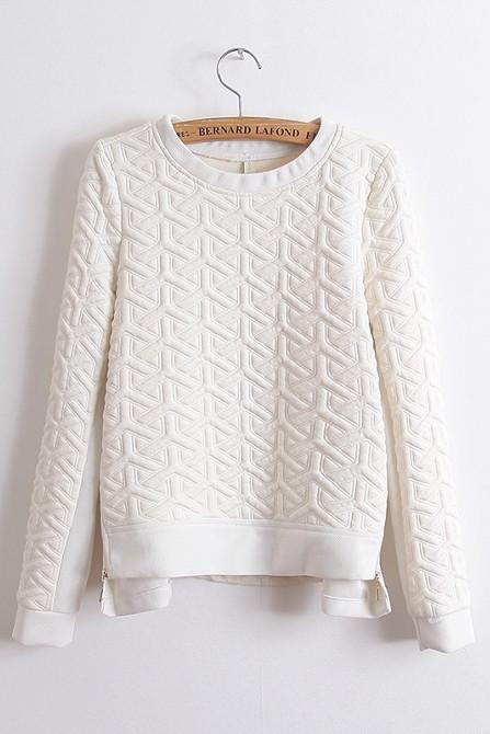 Casual Pullover Sweaters Fleece