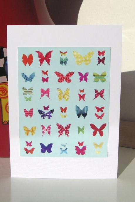 Greeting Card - Butterfly Sampler