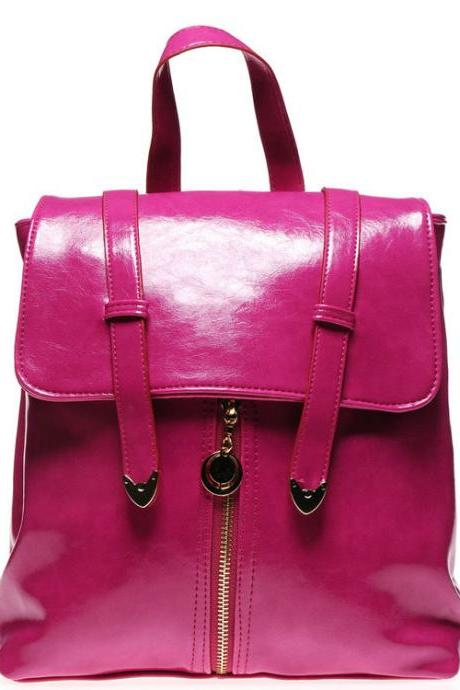 Fashion Purple Lady Backpack