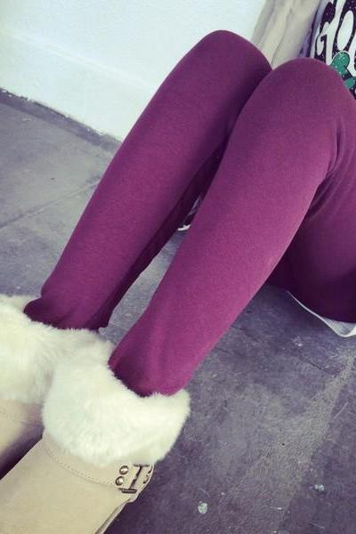 Cotton Slim Fit Women Fashion Elastic Sexy Leggings One Size FREE SHIPPING