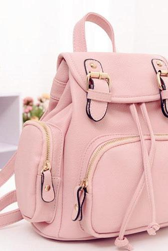 Fashion Lovely Nice Pink Backpack