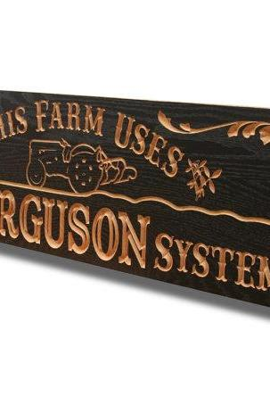 Man Cave Custom Sign Carved Wooden Sign Personalized Business Logo, Business Sign, Solid Hardwood, 12x47