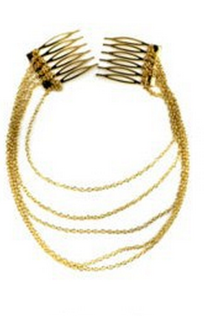 Golden Goddess Hang Crown