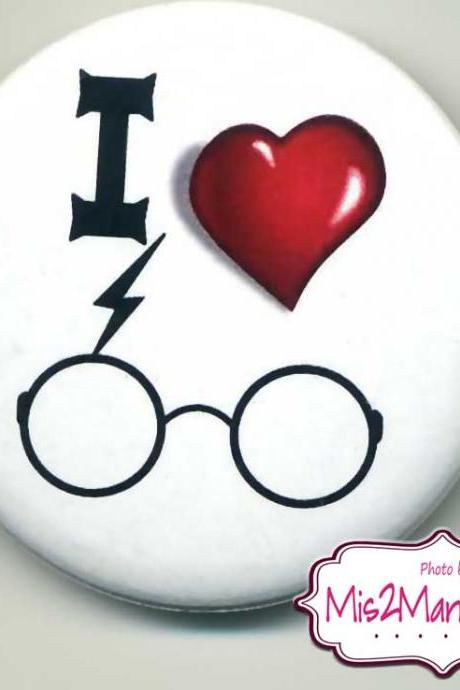 Harry Potter Inspired Buttons Personalized Buttons Custom Buttons and Pins