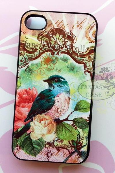Bird and Rose, iPhone 6+ plus Case, iPhone 6s+ plus Case, iPhone 6 Case, iPhone 6s Case, iPhone 5 Case, iPhone 5s Case, iPhone 4, iPhone 4s Case, iPhone 5C, Galaxy S6, Galaxy S6 Edge, Note 3, Note 4, Note 5, Phone Cases