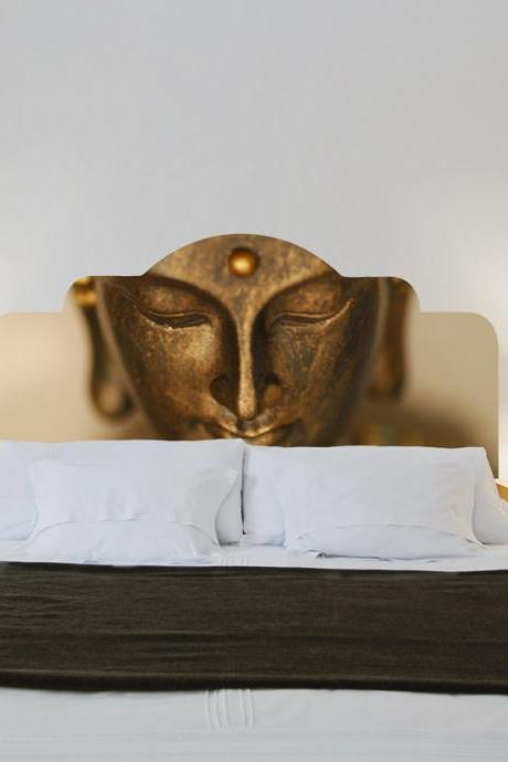 Headboard Decorative Sticker Buddha for Double Bed Home Room Decor