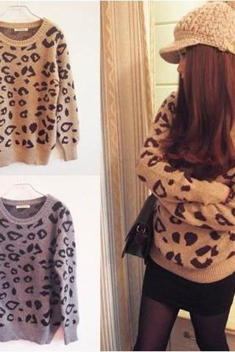LEOPARD SWEATER BBICA