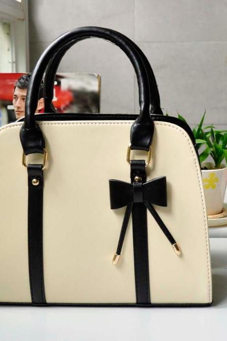 New Korean Lady Women Hobo PU Leather Messenger Handbag Shoulder Bag Totes Purse