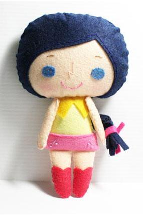 Connie girl - PDF Doll Pattern