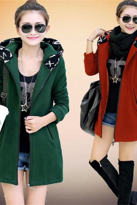 Hooded jackets and cashmere sweater QQ1208G