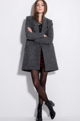 Europe And The United States In The Long Section Of Wool Overcoat Woolen Coats Coats Women