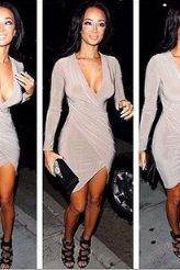 Women's New Sexy Club Ladies Fashion Fashion Dress Bodycon Dress