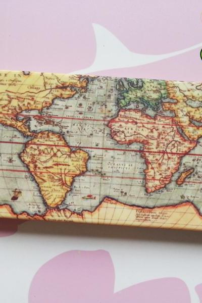 World Map - iPhone 6 Case, iPhone 6 Plus, iPhone 5/5s Case, iPhone 4/4s Case, Galaxy S3, Galaxy S4, Note 2, Note 3, Phone Cover