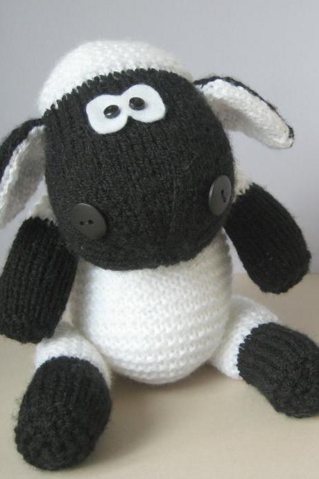 Ally the Sheep toy knitting patterns